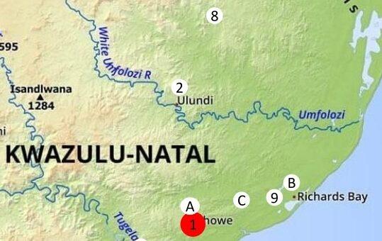 Unsere Projekte auf der Landkarte