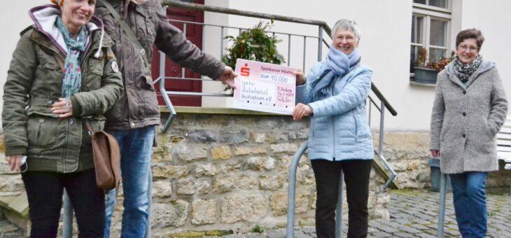 Spende der Paderborner Aiphoria-Stiftung
